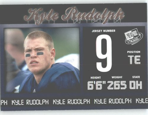 2011 Press Pass NFL Draft Football Card # 28 Kyle? Rudolph TE - Notre Dame (RC - Rookie ()