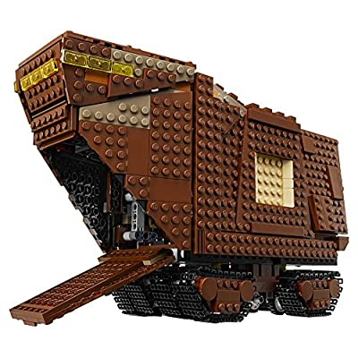 LEGO Star Wars: A New Hope Sandcrawler 75220 Building Kit (1239 Pieces): Toys & Games