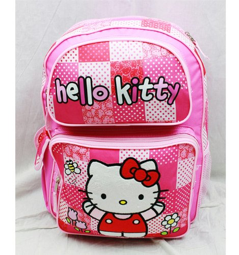Backpack - Hello Kitty - Pink/Red Box (Large School Bag)