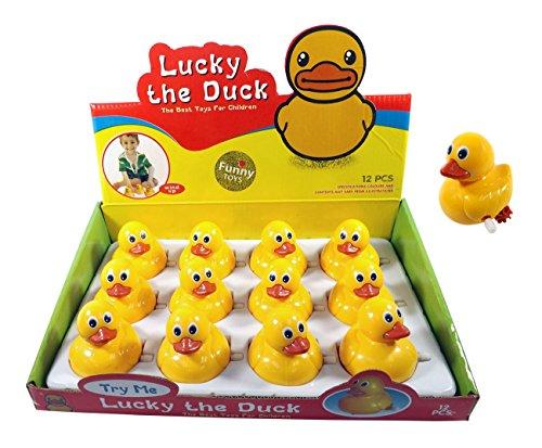 Dozen Ducks Wind Up Duckies Favors