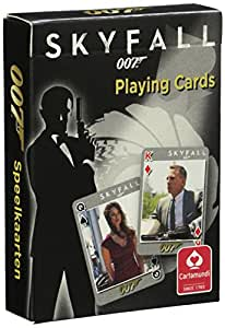 007 James Bond - Skyfall Playing Cards by Cartamundi