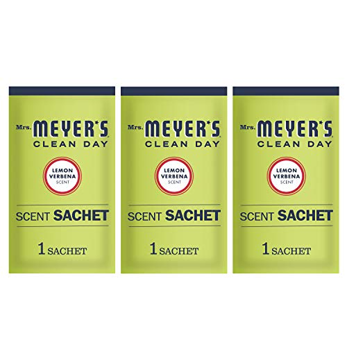 Mrs. Meyer's Clean Day Scent Sachets, Lemon Verbena, 3 Count