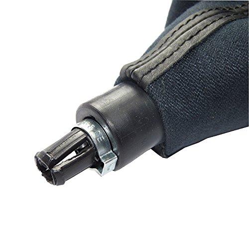 pomo selector de marchas Juego completo de palanca de cambios L/&P A256-4 funda como pieza de repuesto Plug /& Play marco como conjunto completo de 6 velocidades