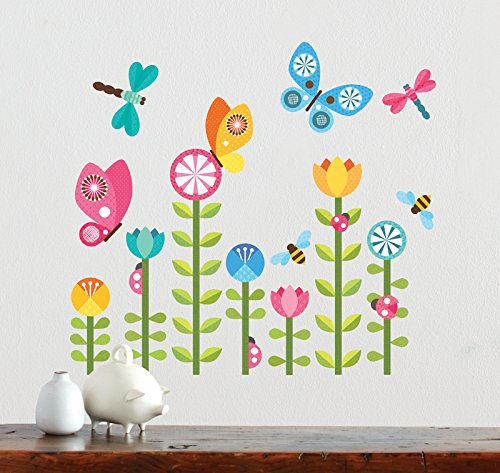 Wall stickers murals petit collage wall decal modern birds petit collage wall decal modern birds butterflies gumiabroncs Choice Image