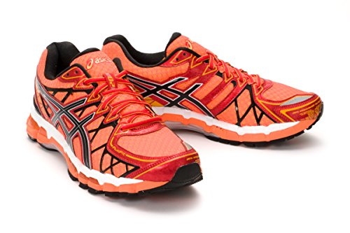 asics gel kayano 20 electric orange
