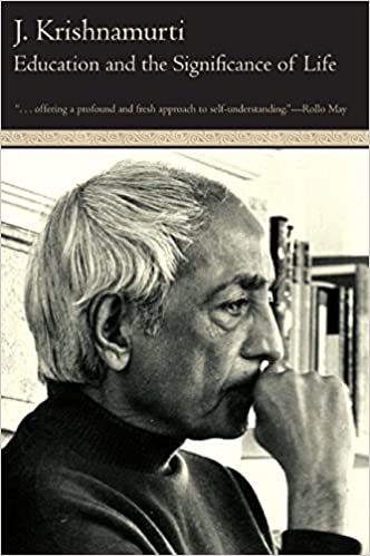 Bilderesultat for jiddu krishnamurti education and significance of life