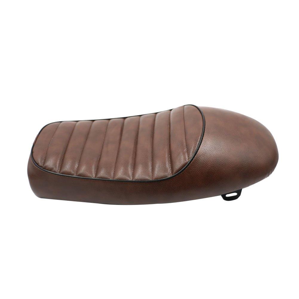 Hump Vintage Seat Cushion For Honda CB125S CB550 CL350 450 CB CL Retro Cafe Racer Black