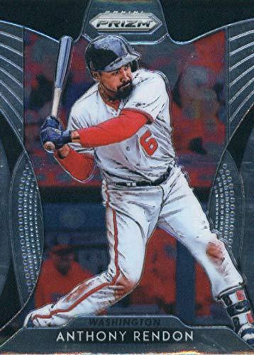 National Baseball Card - 2019 Panini Prizm #138 Anthony Rendon Washington Nationals Baseball Card