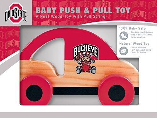 (MasterPieces NCAA Ohio State Buckeyes Push & Pull Toy)
