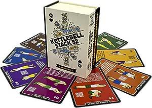 Stack 52 tarjetas de ejercicio Kettlebell.: Amazon.es: Deportes y ...