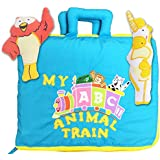 My ABC Animal Train Travel Bag By Pockets of Learning