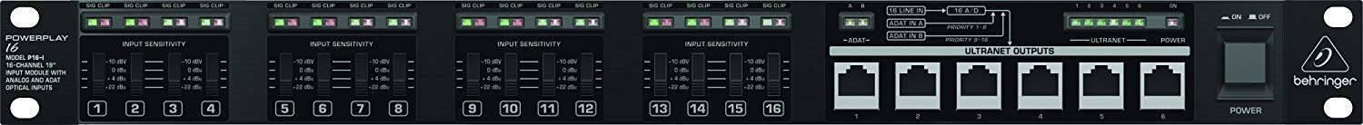 Behringer Powerplay P16-I 16-Channel 19'' Input Module with Microfiber and 1 Year Everything Music Extended Warranty by Behringer (Image #6)