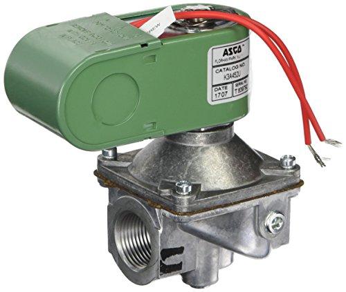 ASCO K3A452U Aluminum Body Low Pressure Direct Acting Fuel Gas Shutoff Valve, 3/4