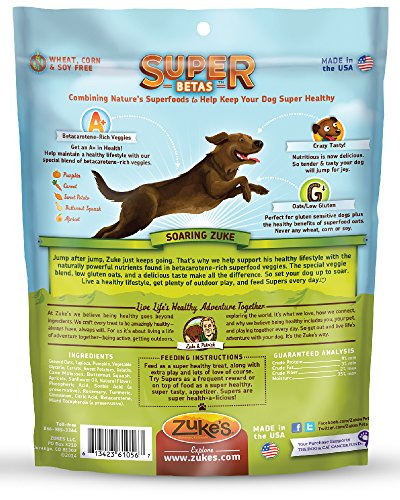 Zukes-Super-Dog-Treats-Yummy-Beta-Blend-6-Ounces