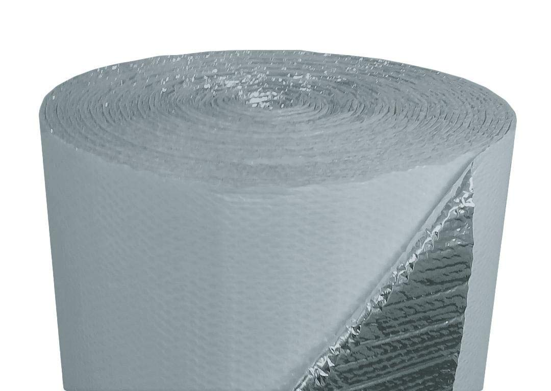 US Energy Products (4ft x 100ft) NASATECH White DOUBLE Bubble Aluminum Reflective Aluminum Insulation Roll Solid Metal Building Vapor Barrier - White Concrete Commercial Residential House Buildings by US Energy Products (Image #7)