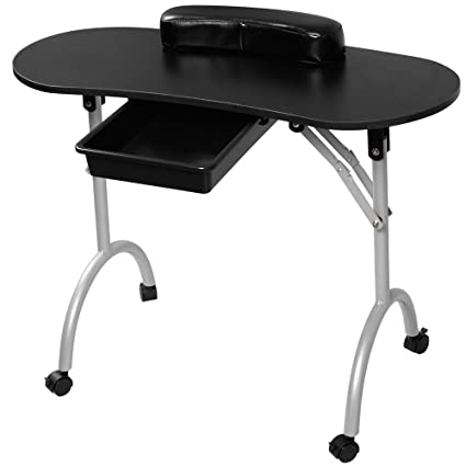 Tomtop Funda para portátil, plegable Manicura Nail Art Salon mesa ...