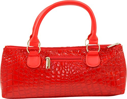Primeware Wine Clutch Bag (Thermal Insulated) Trendy Women's Carry Tote | Holds Red & White 750mL Bottles | Trendy Fashion | Incl. Portable Waiter-Style (Collection Wine Tote)