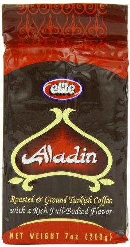 Elite Aladin Coffee, 7-ounces (Bundle off of 6)