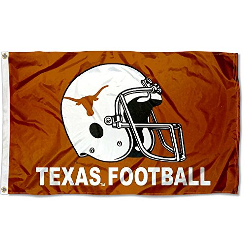 Texas UT Longhorns Large Football Helmet 3x5 College - Football Ut Longhorn