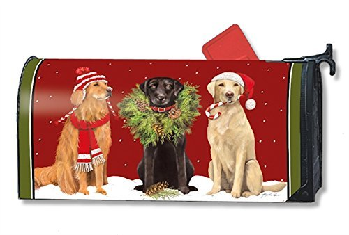 MailWraps Santa's Helper Mailbox Cover #01246 by MailWraps