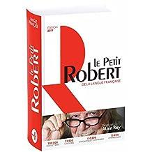 Le Petit Robert de la langue française 2019