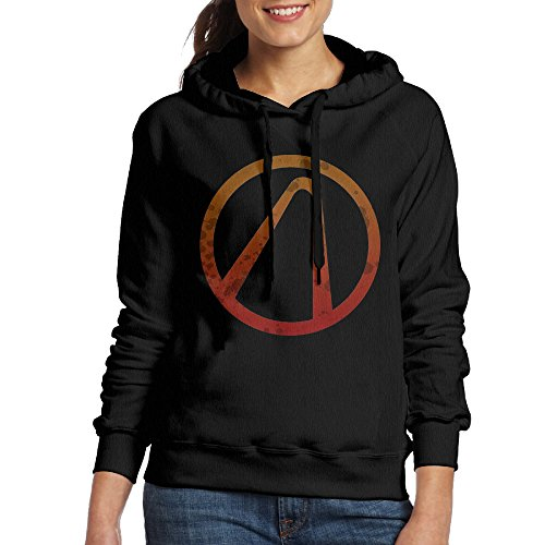 Costumes For Couples Tumblr (MUMB Women's Hoodies Borderlands Logo Size L Black)
