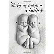 Baby log book for twins: My Baby's Health Record Keeper, Baby's Eat, Sleep & Poop Journal, Log Book, Activities baby for twins (Volume 3)