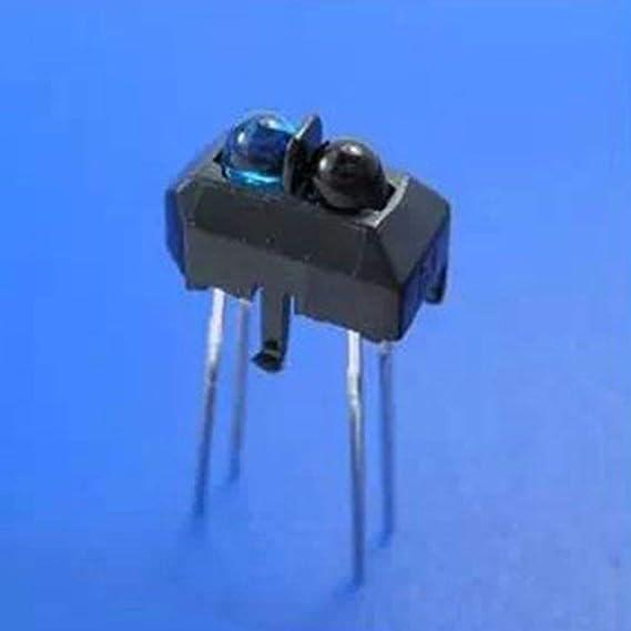 amazon com korowa 10pcs tcrt5000l tcrt5000 reflective infraredimage unavailable image not available for color korowa 10pcs tcrt5000l tcrt5000 reflective infrared optical sensor photoelectric switches
