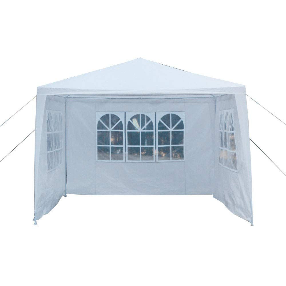 Crazyworld 10'x10' Outdoor Canopy 3 Sidewalls Wedding Party Tent Gazebo Heavy Duty Pavilion Cater Event Side Walls & Carrying Bag