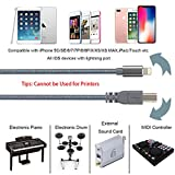 MIDI cable for i-Phone/iPad,USB 2.0 type-B to