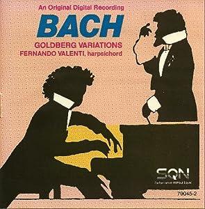 J.S. Bach, Fernando Valenti - Harpsichord - J.S. Bach: The