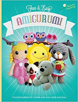Book Fun and Easy Amigurumi: Crochet patterns to create your own dolls and toys: Volume 1