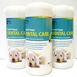 Alpha Dog Series Dental Wipes (Pack of 3)