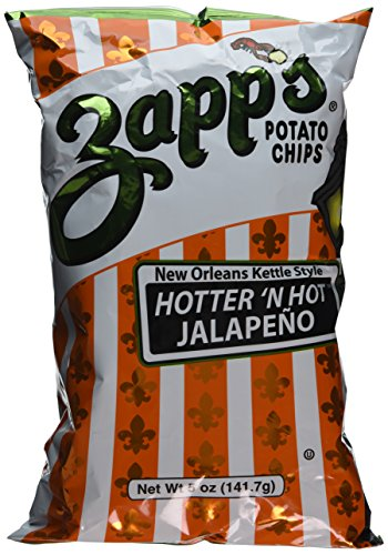(Zapp's Hotter 'n Hot Jalapeno - 2 x 5 oz - New Orleans Style)