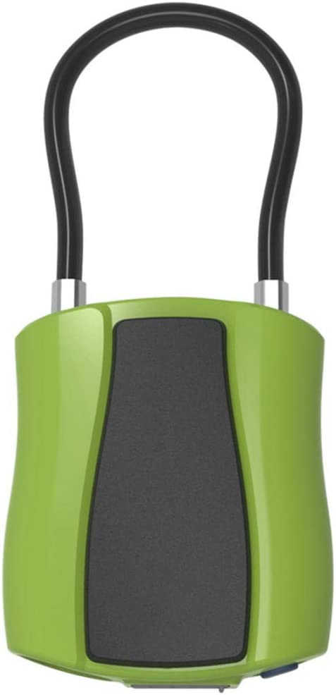 Vorh/ängeschloss Smart Lock Elektronisches Schloss Outdoor Bluetooth Wasserdicht Gelb