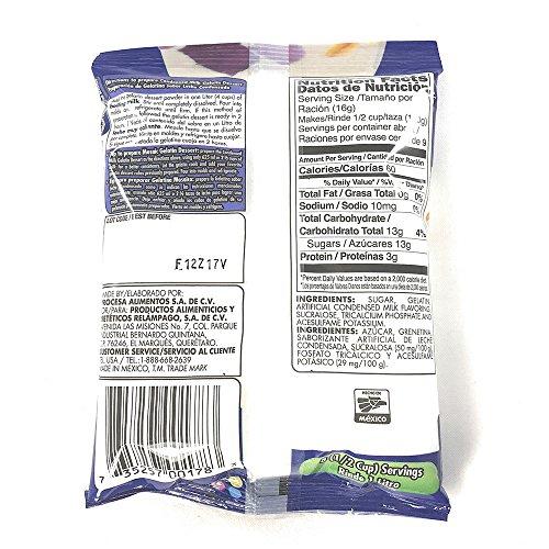 Amazon.com : DGari Gelatin Dessert Leche Condensada- Condensed Milk 4.9 oz- 5 pack : Grocery & Gourmet Food