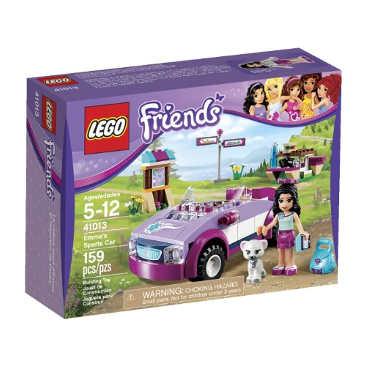 [레고 스포츠] LEGO Friends Emma's Sports Car (41013)
