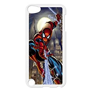 Custom Spider Man Back Cover Case for ipod Touch 5 JNIPOD5-186