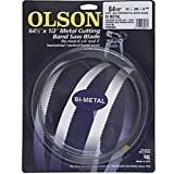 Olson Saw BM82264BL BI-Metal Band Saw Blade, 1/2 by .025-Inch, 14/18 VARI 64-1/2-Inch