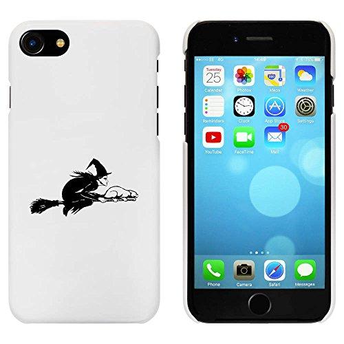 Blanc 'Sorcière Volante' étui / housse pour iPhone 7 (MC00089061)