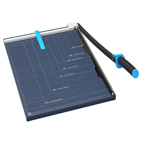 Large paper cutter amazon marigold 18 professional paper trimmer blue gl310 malvernweather Gallery