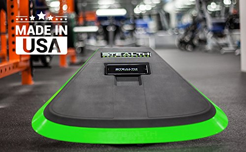 Stealth Core Trainer Professional, Dynamic Ab Plank Workout, Interactive Fitness Board Powered By GamePlay Technology For a Healthy Back and Strong Core (Glow Green) by Stealth (Image #6)