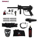 MAddog Tippmann A5 A-5 Standard Specialist Paintball Gun Package – Black Review