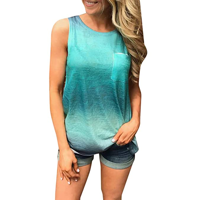 Damark(TM) Ropa Camiseta sin Mangas para Mujeres, Camisetas ...
