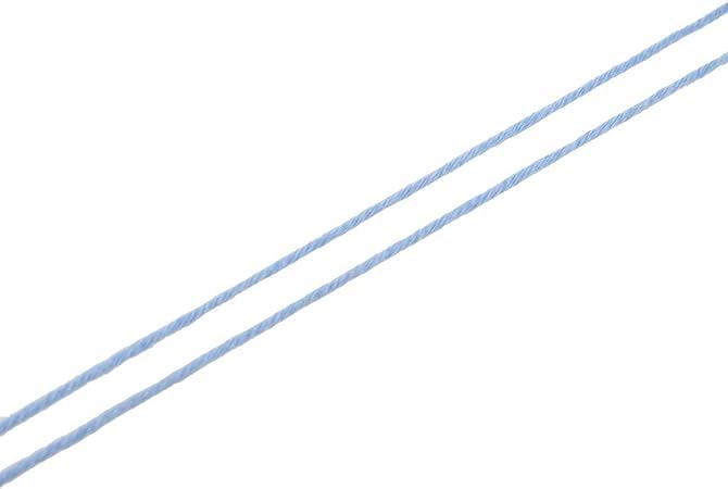 SODIAL(R) 50g Tencel Hilo de algodon de bambu para bebe (Azul claro): Amazon.es: Hogar