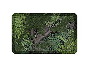 """NewLife by GelPro Anti-Fatigue Designer Comfort Kitchen Floor Mat, 20x32"""", Pebble Pomegranate Stain Resistant Surface with 3/4"""" Thick Ergo-foam Core for Health and Wellness"""