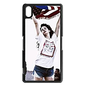 New Stylish Pretty Singer Lana Del Rey Phone Case Cover for Sony Xperia Z2 Lana Del Rey Fashional