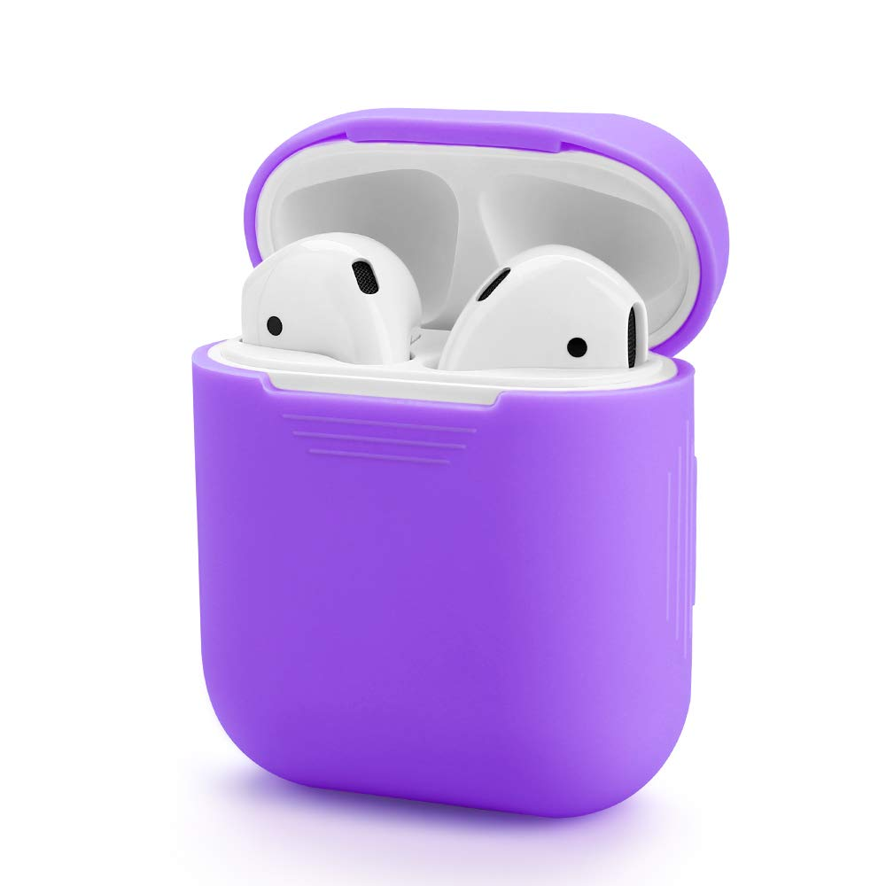 360/° Protective Silicone Case Suitable for Airpods Charging Case. Compatible with Airpods Case Grey