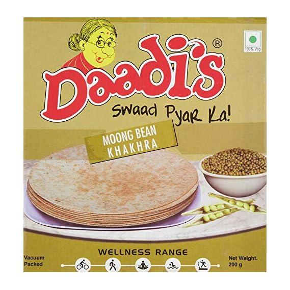Daadi's Moong Dal Khakhra, 200g (Pack of 2)