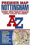 Nottingham Premier Map (A-Z Premier Street Maps)